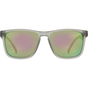Red Bull SPECT Leap Occhiali da sole, x'tal light grey/smoke-olive green